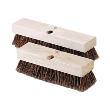 "Royal BR DECK 12 - Deck Brush, 12"", without handle, brown"