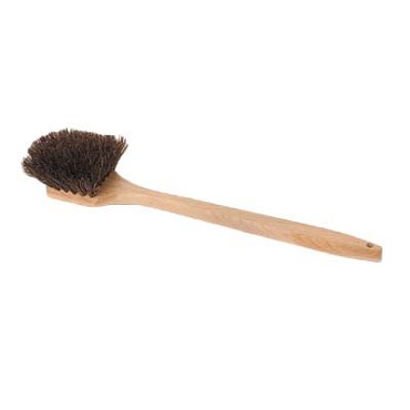 "Royal BR POT L - Pot Brush, 20"", Palmyra bristles, wood handle"