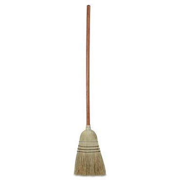 "Royal BRM WHSP - Warehouse Broom, 42"" long handle, wood (Case of 12)"