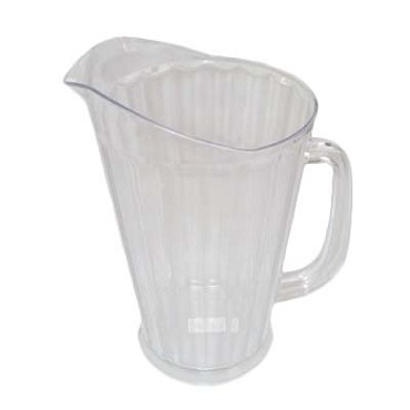 Royal ROY 6702 - Bar Pitcher, 60 oz., tapered, polycarbonate, (Case of 12)