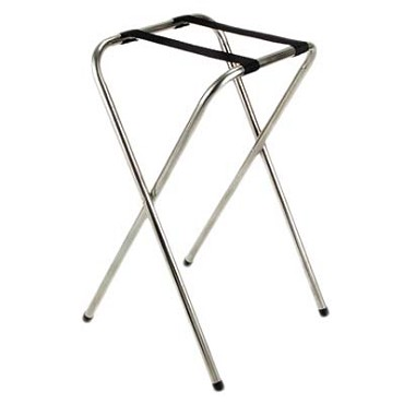 "Royal ROY 774 - Tray Stand, 32""H, standard, chrome (Case of 6)"