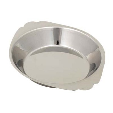 "Royal ROY ARSS 810 - Au Gratin Dish, 10 oz., 7-7/8"" dia., round, stainless steel"