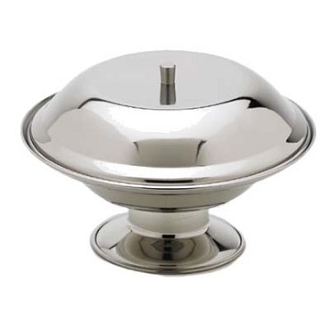 "Royal ROY CA 75 A - Compote Base, 7-3/8"" dia., stainless steel"