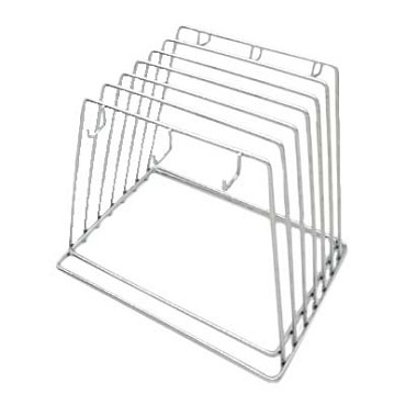 "Royal ROY CB RACK - Cutting Board Rack, 9"" x 12"" x 10"", 6 slot, stainless steel"