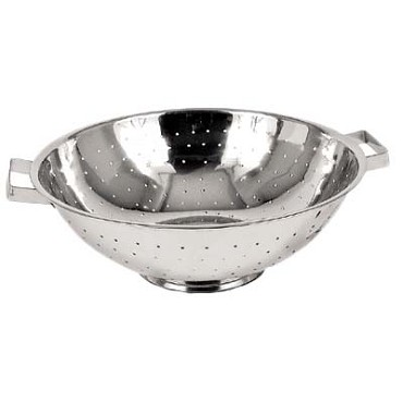 "Royal ROY CL 8 - Colander, 8 quart, 12"" diameter, stainless steel"