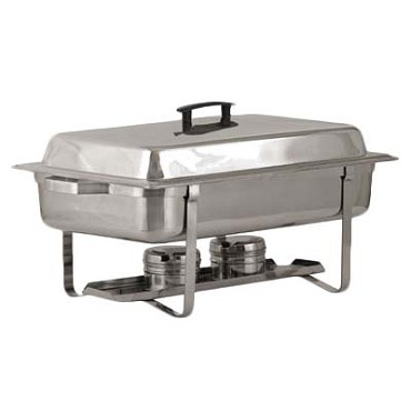 Royal ROY COH 2 - Continental Chafer, 8 qt., rectangular, dome cover