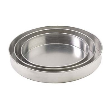 "Royal ROY DP 12 2 - Pizza Pan, 12"" dia. x 2"" deep, straight sided, aluminum"