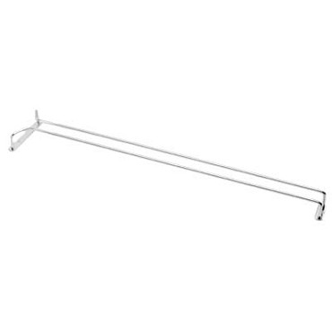 "Royal ROY GH 24 C - Glass Hanger, 24"", chrome plated wire"
