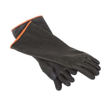 Royal ROY GLV BLK EL - Glove, elbow length, heavy duty, rubber