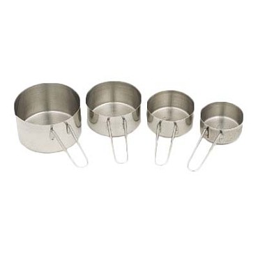 Royal ROY MCS - Measure Cup Set, stainless steel