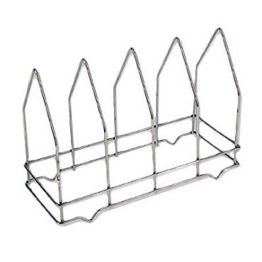 "Royal ROY PS 4 - Pizza Screen Rack, 14"" x 6"" x 10-1/4""H, 4 divided sections"