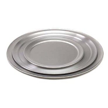 "Royal ROY PT 13 - Pizza Tray, 13"" diameter, wide rim, aluminum"