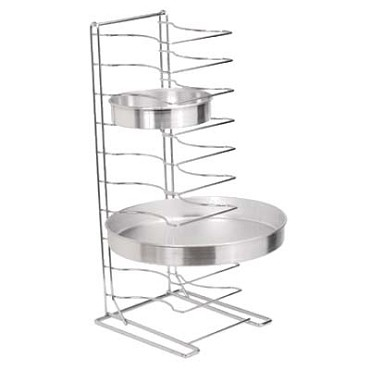 "Royal ROY PTS 11 HD - Pizza Pan Rack, 11 shelves, 2-1/4 spacing, for 10"" to 17"" pans"