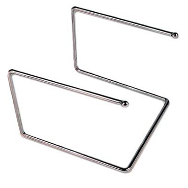 "Royal ROY PTS 12127 - Pizza Tray Stand, 12"" x 12"" x 7""H, chrome plated"