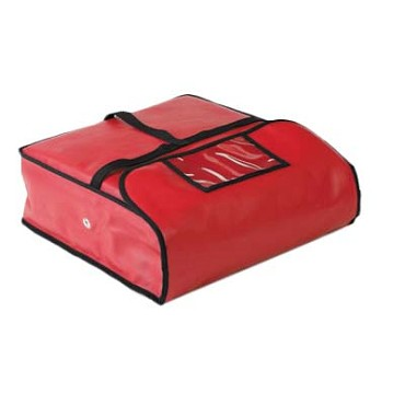 "Royal ROY PZA BAG 20 - Pizza Delivery Bag, 20"" x 20"", insulated, red (Case of 6)"
