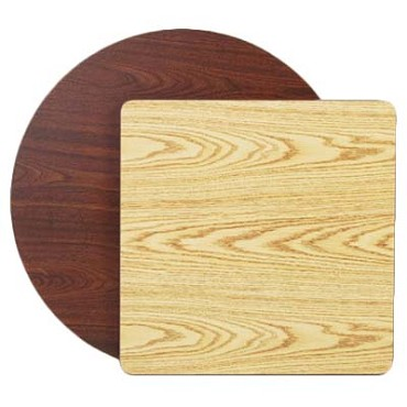 Royal ROY RTT 30 RT - Reversible Round Oak/Walnut Table Top, 30 in.