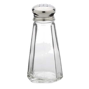 Royal ROY SPS 3 - Salt & Pepper Shaker, 3 oz., paneled, glass (Case of 72)
