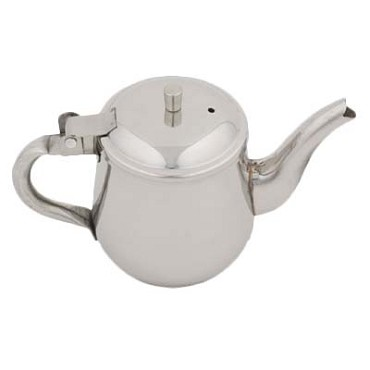 Royal ROY T 325 - Teapot, 10 oz., gooseneck, stainless steel