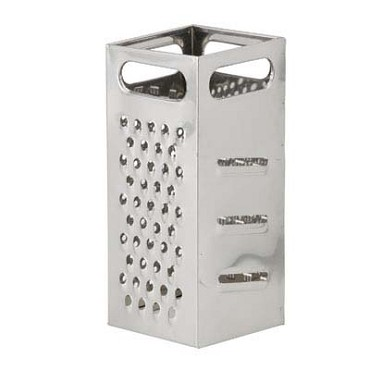 Royal ROY GR 77 - Grater, 4 sided, heavy duty, stainless steel