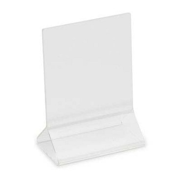 "Royal ROY ACH 35 - Card Holder, 3"" x 5"", clear acrylic"