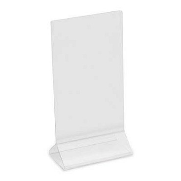 "Royal ROY ACH 48 - Card Holder, 4"" x 8"", clear acrylic"