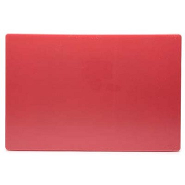 "Royal ROY CB 1824 R - Cutting Board, 18"" x 24"" x 1/2"", polyethylene, red"
