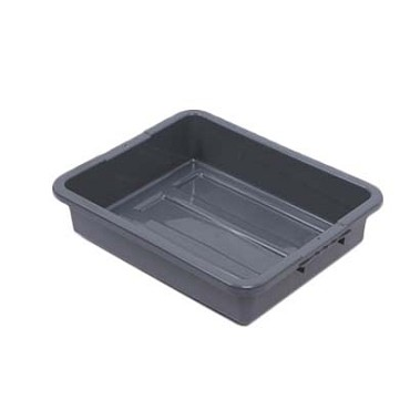 "Royal DIN BT503 - Bus Box, 1-compartment, 21.25""L x 17.25""W x 5"" deep, gray"
