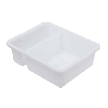 "Royal DIN BTD00 - Bus Box, 2-compartment, 21.25""L x 17.25""W x 7"" deep, white"