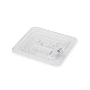 Royal ROY PCC 1600-1 - Food Pan Cover, 1/6-size, solid, polycarbonate, NSF