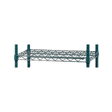 "Royal ROY AE S ZGN 1424 - Shelf, wire, 14"" W x 24"" L, green, (Case of 4)"