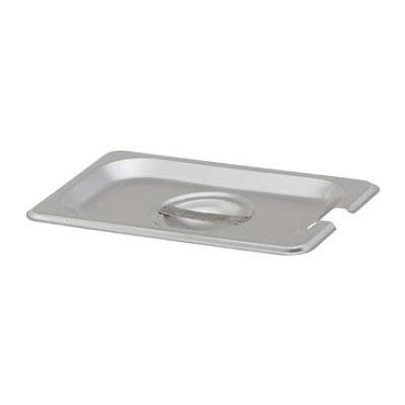 Royal ROY STP 1900 2 - Pan Cover, ninth size, notched, stainless steel, NSF