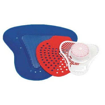 Royal URN SCRN D - Urinal Screen, deodorant screen, red (Case of 72)