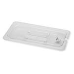 Royal ROY PCC 1300-2 - Food Pan Cover, 1/3-size, notched, polycarbonate, NSF