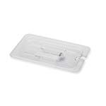Royal ROY PCC 1400-2 - Food Pan Cover, 1/4-size, notched, polycarbonate, NSF