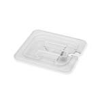 Royal ROY PCC 1600-2 - Food Pan Cover, 1/6-size, notched, polycarbonate, NSF
