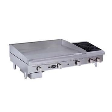 "Royal Range RMG-36OB4 - Griddle/Hotplate, Gas, countertop, 60"" wide, 36"" wide x 3/4"" thi"