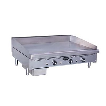 "Royal Range RSTG-18 - Snack Griddle, Gas, countertop, 18"" wide, 5/8"" thick polished st"