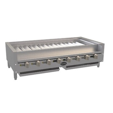 "Royal Range RSKTB-48 - Countertop Radiant Broiler, gas, 48""W, (8) 15K BTU/hr"
