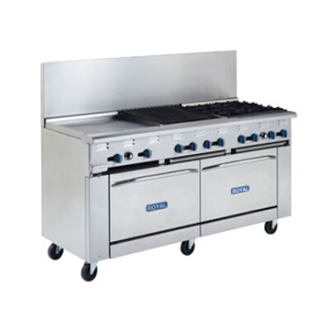 "Royal Range RR-RANGE BASE 36 - Restaurant Range Base, Gas, 36"" wide"