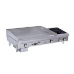 Royal Range RMG-48OB4 - Griddle/Hotplate, Gas, countertop, 72