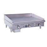Royal Range RSMG-36NG - Snack Griddle, Natural Gas, countertop, 36
