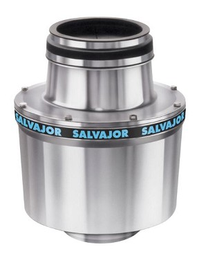 Salvajor 100 - Disposer, basic unit only, 1 Hp motor, heat treated aluminum alloy housing, UL, CSA, CE
