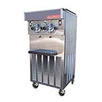 Sani Serv 424 - Soft Serve/Yogurt Twin Freezer, floor model, air-cooled self- co