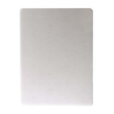 "San Jamar CB12181WH - Cutting Board, 12"" x 18"" x 1"" , white, (Case of 3)"