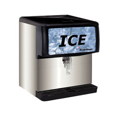 Scotsman ID200B-1 - Countertop Cube Ice Dispenser, Cup Activated