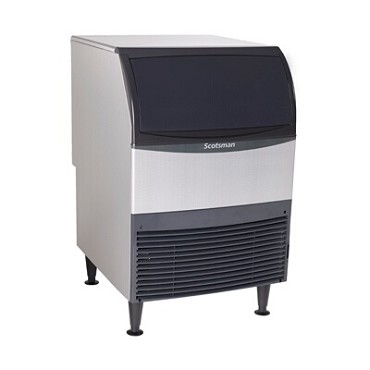 Scotsman UF424A-1 - Flake Ice Maker w/Bin, 440-lb/24-hrs, 80 lb bin storage