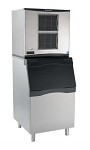 Scotsman C1030MA-32/B842S/KBT29 - Prodigy Cube Ice Machine with Bin