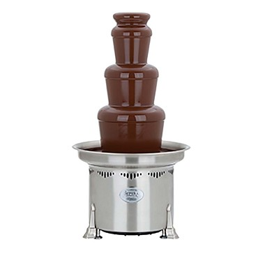Sephra 0.27.10150 - Aztec Chocolate Fountain, 27 in., (3) Tier, Serves 75-150