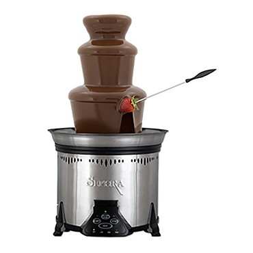 "Sephra 17311 - The Elite Chocolate Fountain, 2-tier, 19""H, serves 40+, plastic tier"