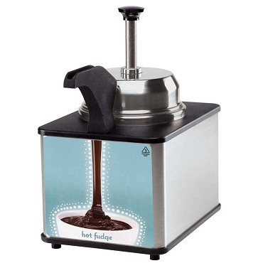 Server 81140 - FSPW-SS Supreme Food Server, with pump and heated spout, thermos
